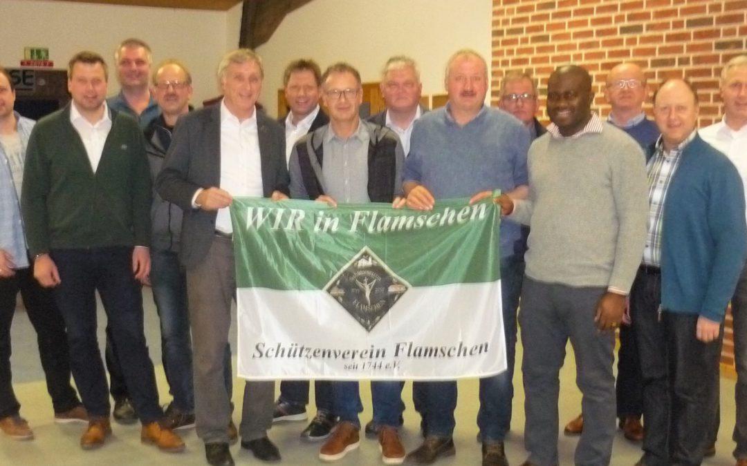 Generalversammlung: Jubiläumsjahr in Flamschen eingeläutet