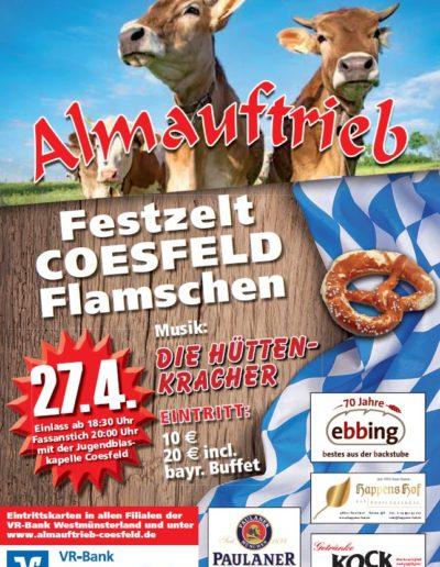 Plakat Almauftrieb