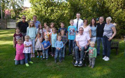 Königsthron zu Gast beim Flamschener Familienfest